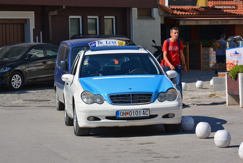 Такси в Скопье и трансфер из аэропорта
