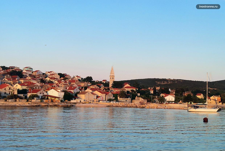 Остров Уние в Хорватии