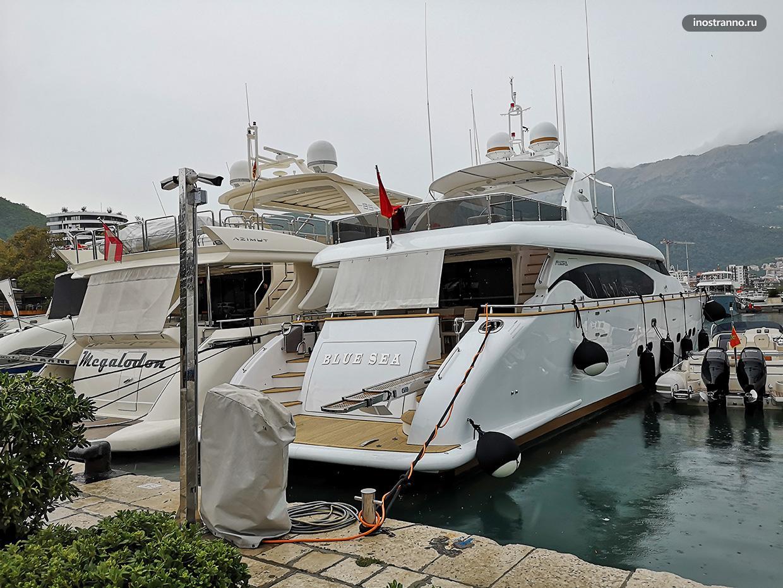 Аренда яхты в Черногории цены и расходы