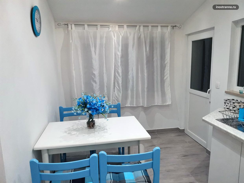Светлая чистая квартира в Пуле в Хорватии
