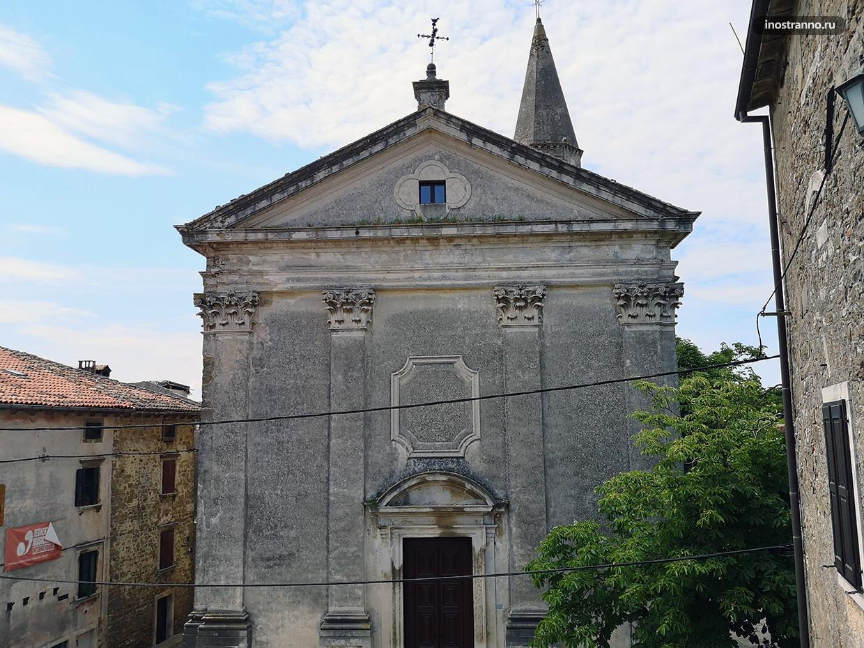 Католическая церковь в Грожняне
