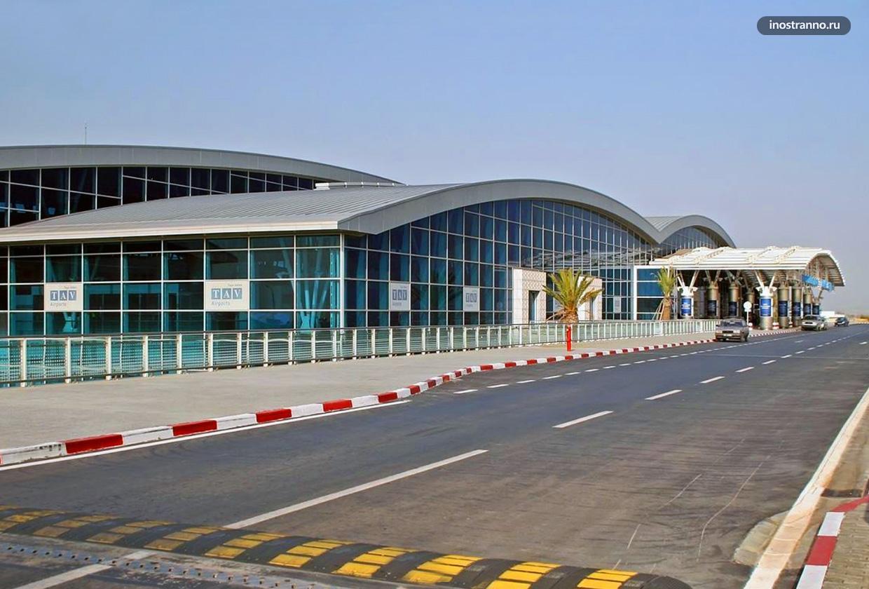 Международный аэропорт Энфида-Хаммамет в Тунисе